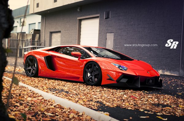 Lamborghini Aventador Wild Bull от SR Auto Group